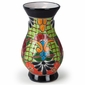 Talavera Medium Ridged Vase