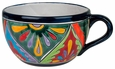 Large Talavera Tea Cup Flower Pot Planter
