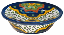 Talavera Multi-Color Soap Dish