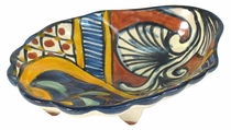 Talavera Shell Soapdish