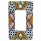 Talavera Single Rocker Switchplate PL7