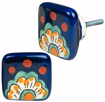 Set of 2 Talavera Square Drawer Pulls