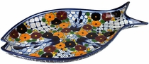 Talavera Swallow Fish Platter