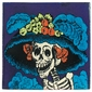 Talavera Tile - Day of the Dead - PP2135 - 15 Tiles