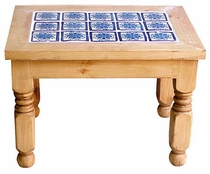 Talavera Tile Lyon End Table