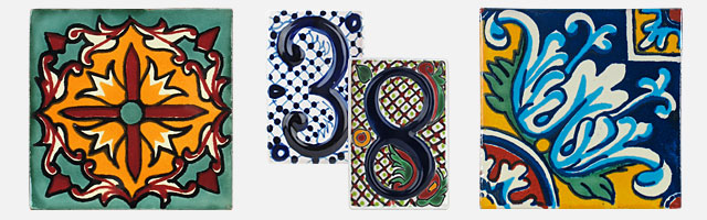 Mexican Talavera Tile Hand Painted Ceramic Mexican Tiles - Discount mexican tile