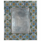 Talavera Tile Picture Frame - for 4 x 6