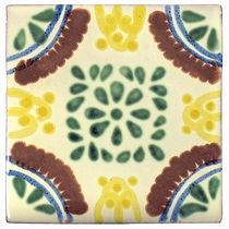 Talavera Tile - PP2005 - 15 Tiles