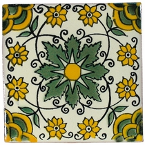 Talavera Tile - PP2124 - 15 Tiles