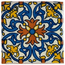 Talavera Tile - PP2128 - 15 Tiles