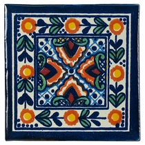 Talavera Tile - PP2140 - 15 Tiles