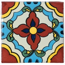 Mexican Talavera Tile Hand Painted Ceramic Mexican Tiles