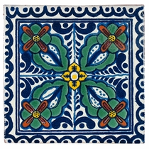 Talavera Tile - PP2144 - 15 Tiles