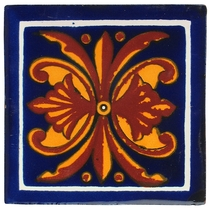 Talavera Tile - PP2196 - 15 Tiles