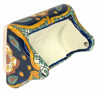Talavera Toilet Paper Holder for tile wall