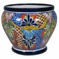 Talavera Urn Flower Pot