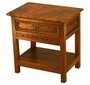 Taos Nightstand with copper