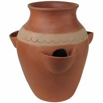 Terra Cotta 3 Hole Strawberry Pot