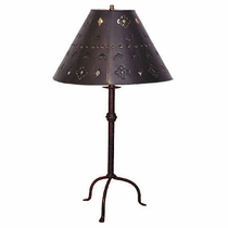 Three Leg Iron Table Lamp