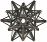 Clear Glass Moravian Star Candleholder