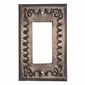 Tin Single Rocker Style Switchplate - Star