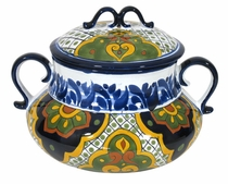 Traditional Talavera Soup Tureen