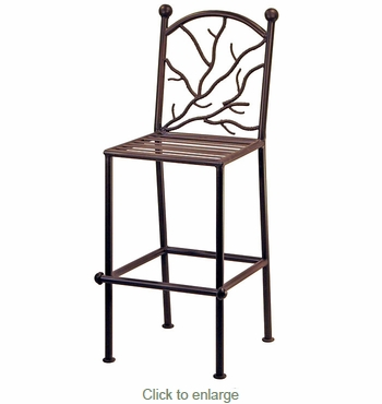 Twig Back Bar Stools - Set of 2