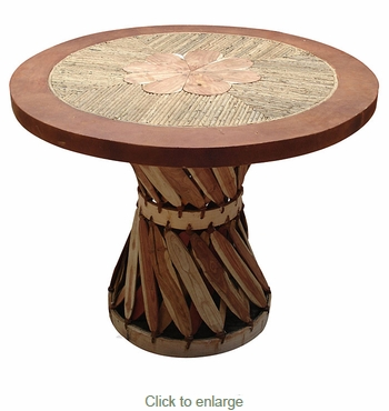 Twig Top Round Equipale Table