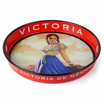 Victoria Mexican Beer Tray - By The Sea - Set of 2
