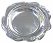 Wavy Rim Oval Pewter Tray