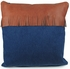 Western Denim and Leather Fringe Pillows - Set of 2 - 16