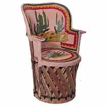 Will Rogers Equipale Peacock Chair