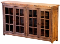 Windowed Buffet with Copper Top