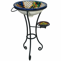 Wrought Iron Sink Stand For Small Talavera Sink