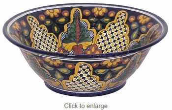 X-Large Deep Talavera Bowl