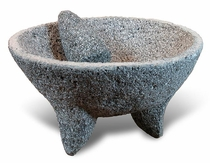 "X-Large Molcajete Mortar and Pestle - 16"" Dia."