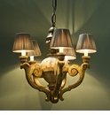 Abigails Chandelier 5 Light Mother of Pearl