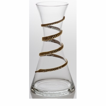 Abigails Lionshead Carafe With Gold Rope