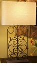 Abigails Metal Lamp Vase Small without Shade