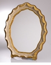 Abigails Mirror Vendome Ivory & Gold