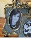 Abigails Picture Frame French Blue Vendome