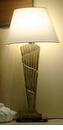 Abigails Table Lamp Golden with Shade Vendome