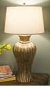 Abigails Table Lamp Vendome Mother of Pearl with Shade