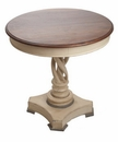 Abigails Table Round Twisted Leg