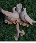 Abigails Terra Cotta Branch with Doves Large