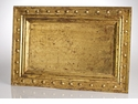 Abigails Vendome Tray Gold Leafing