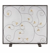 Acanthus Leaf Fireplace Screen by SPI Home