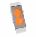ACME BI Orange - White Strap Watch