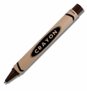 ACME Crayon Chocolate Brown Retractable Roller Ball