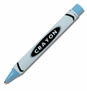 ACME Crayon Light Blue Retractable Roller Ball
